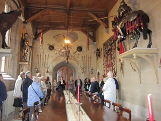 Inside Hampton Court Castle
