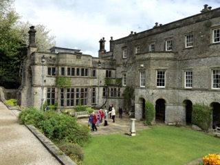 Tissington Hall from Terrace